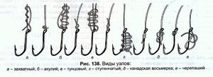 Как  вязать рыболовные крючки