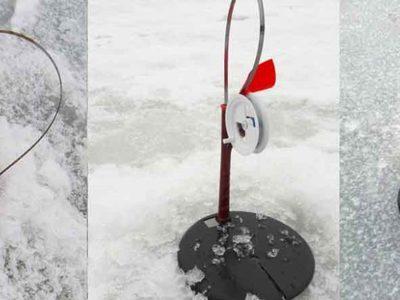 Как оснастить жерлицу на щуку зимой