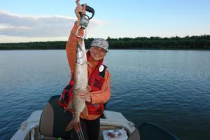 Особенности летней рыбалки на Оке