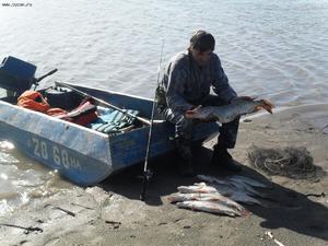 Выбор место на реке Ока