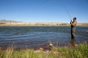 Как рыбачат на реке Ока