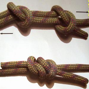 Морские узлы, схема вязки