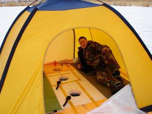 Палатка для рыбалки своими руками чертежи фото 877