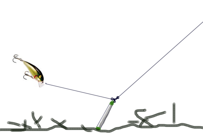 Чебурашка отводной поводок