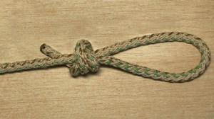 Как привязать две веревки